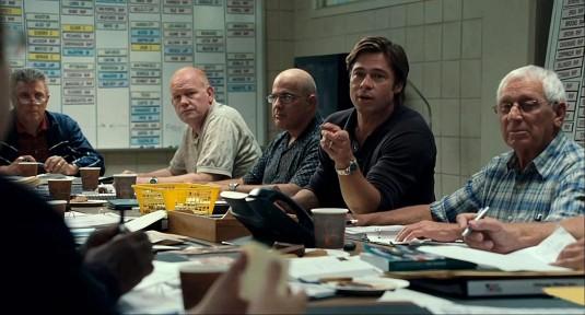 Brad Pitt in Moneyball