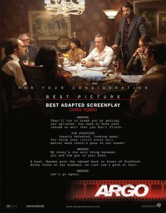 Argo Screenplay