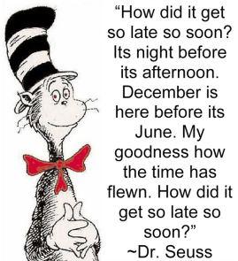 So late so soon