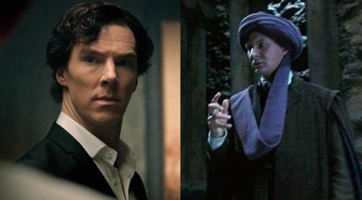 Benedict Cumberbatch as Quirrell