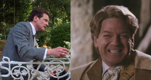 Colin Firth as Gilderoy Lockhart