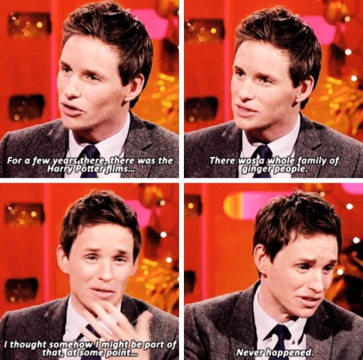 Redmayne on HP