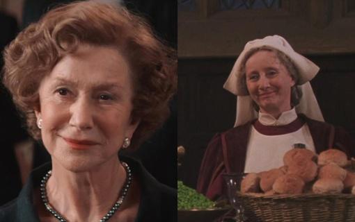 Helen Mirren as Madame Pomfrey