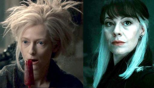 Tilda Swinton as Narcissa Malfoy
