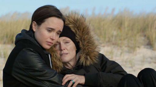 Ellen Page and Julianne Moore in Freeheld