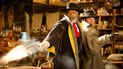 Samuel L. Jackson Walton Goggins The Hateful Eight