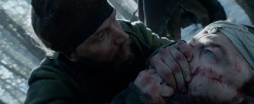 Tom Hardy Leonardo DiCaprio The Revenant