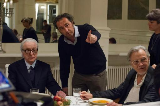 Paolo Sorrentino directing Youth