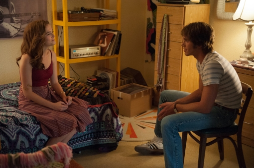 Zoey Deutch and Blake Jenner in Everybody Wants Some