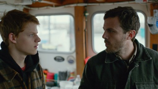 Lucas Hedges and Casey Affleck in Manchester by the Sea