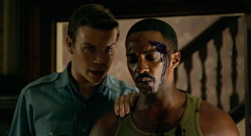 Will Poulter and Anthony Mackie in Detroit